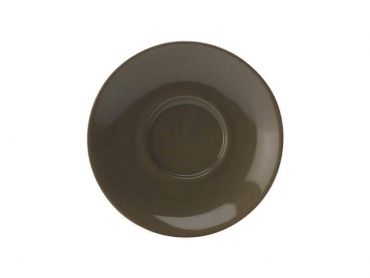 Cafe Culture Cappuccino Saucer 14cm Military Green